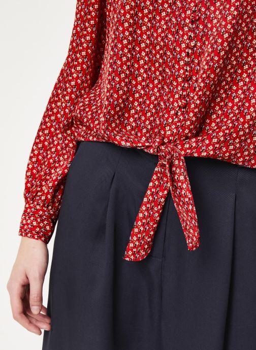 Vêtements Frnch F10716 Rouge vue face