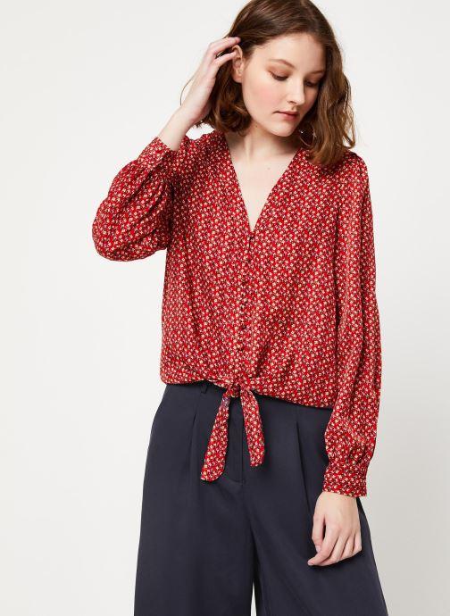 Vêtements Frnch F10716 Rouge vue droite