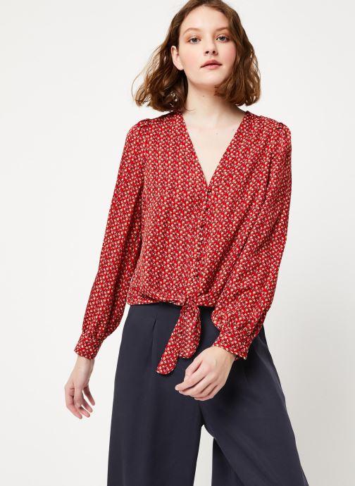 Vêtements Frnch F10716 Rouge vue détail/paire