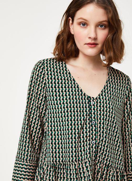Vêtements Frnch F10722 Vert vue face