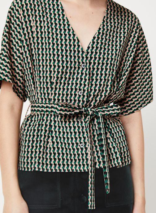 Vêtements Frnch F10723 Vert vue face
