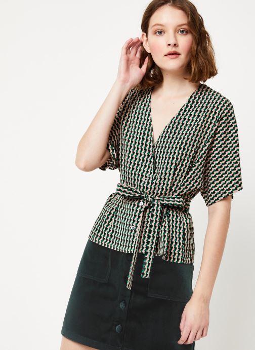 Vêtements Frnch F10723 Vert vue détail/paire