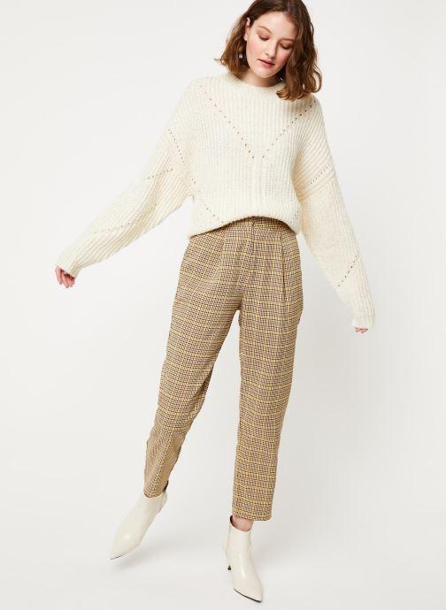 Vêtements Frnch MS19-10 Blanc vue bas / vue portée sac