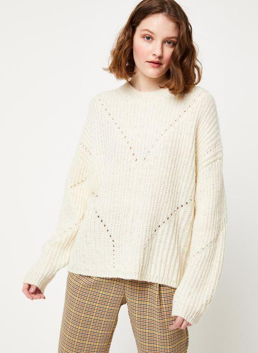 Vêtements Frnch MS19-10 Blanc vue droite