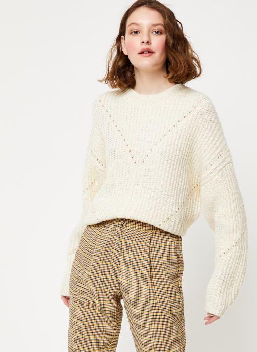 Vêtements Frnch MS19-10 Blanc vue détail/paire