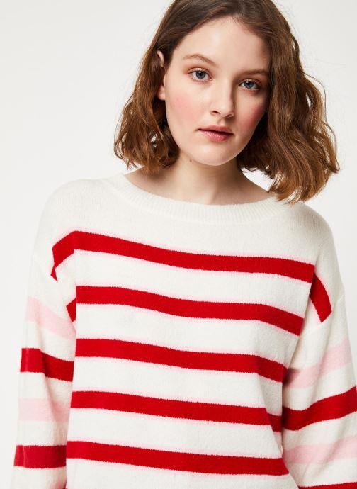 Vêtements Frnch MS19-23 Blanc vue face