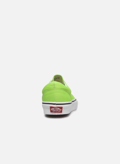 Sneaker Vans UA Era (NEON) grün ansicht von rechts