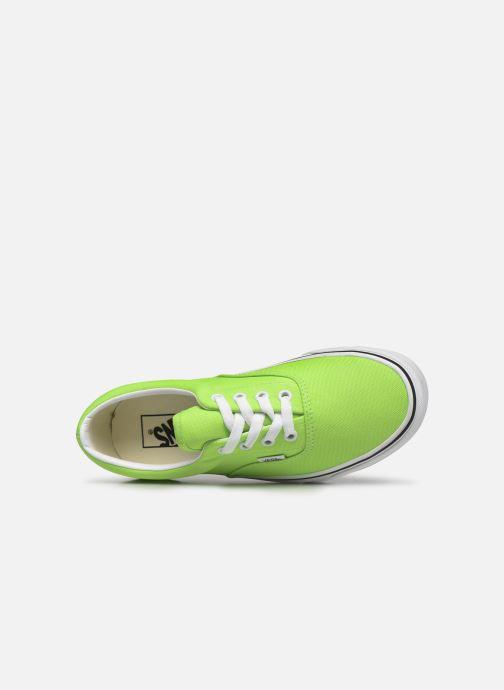 Sneaker Vans UA Era (NEON) grün ansicht von links