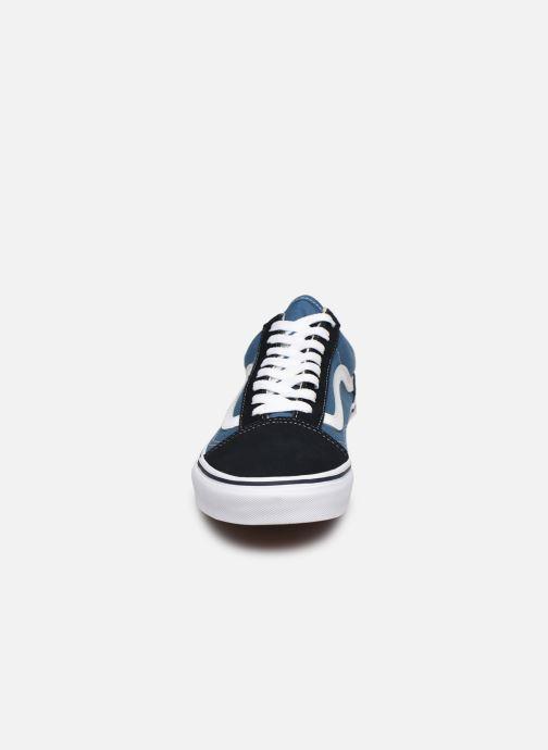Baskets Vans UA Old Skool (CLASSIC) M Bleu vue portées chaussures