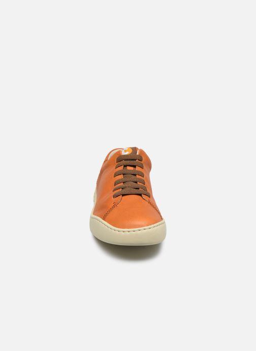 Baskets Camper PEU TOURING Orange vue portées chaussures