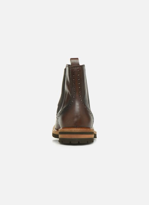 Ankle boots Florsheim RICHARDS HAUTE DARK BROWN Brown view from the right