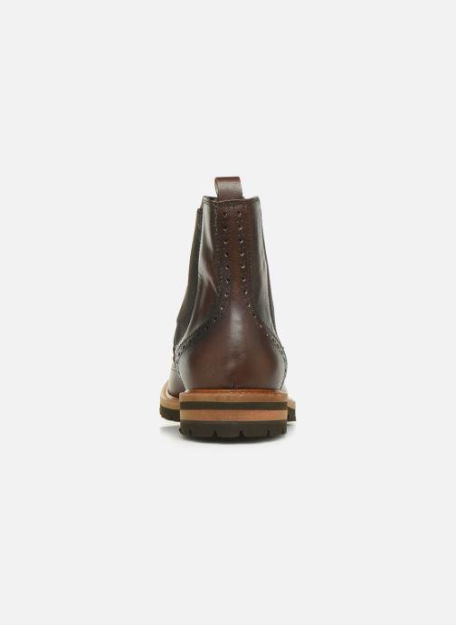 Bottines et boots Florsheim RICHARDS HAUTE DARK BROWN Marron vue droite