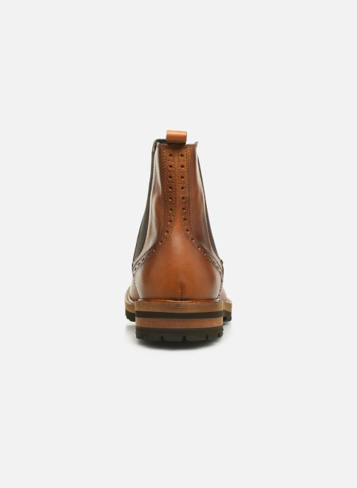Ankle boots Florsheim RICHARDS HAUTE TAN CALF Brown view from the right