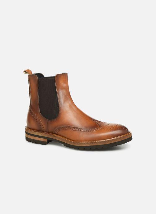 Ankle boots Florsheim RICHARDS HAUTE TAN CALF Brown detailed view/ Pair view