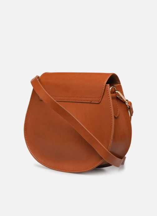 Handbags I Love Shoes LILOOP Brown view from the right