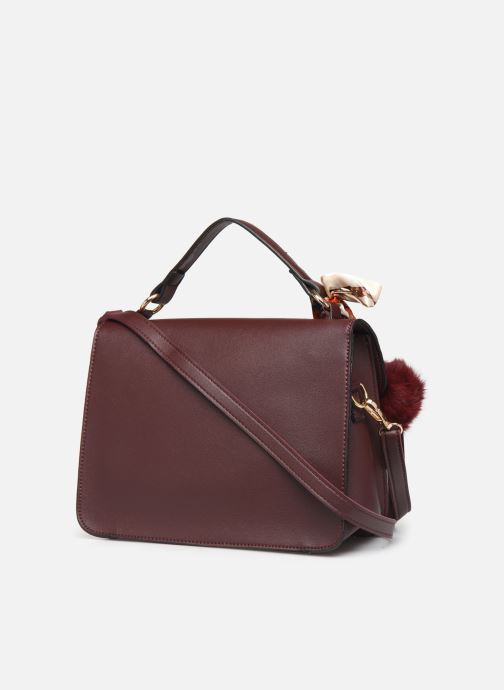 Handbags I Love Shoes LIFANDA Burgundy view from the right
