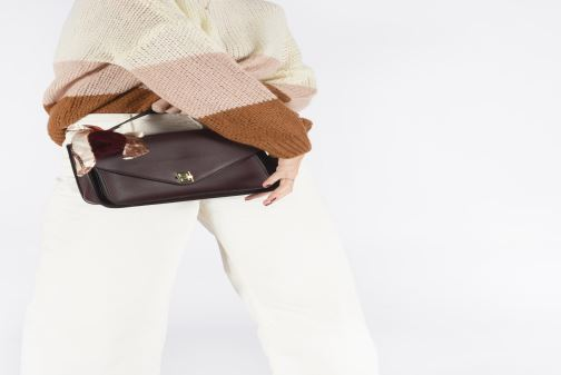 Handbags I Love Shoes LIFANDA Burgundy view from underneath / model view
