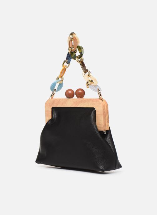 Handbags I Love Shoes LIMONA Black view from the right