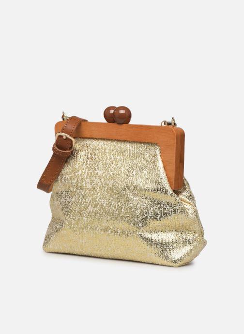 Bolsos de mano I Love Shoes LIMONA Oro y bronce vista del modelo