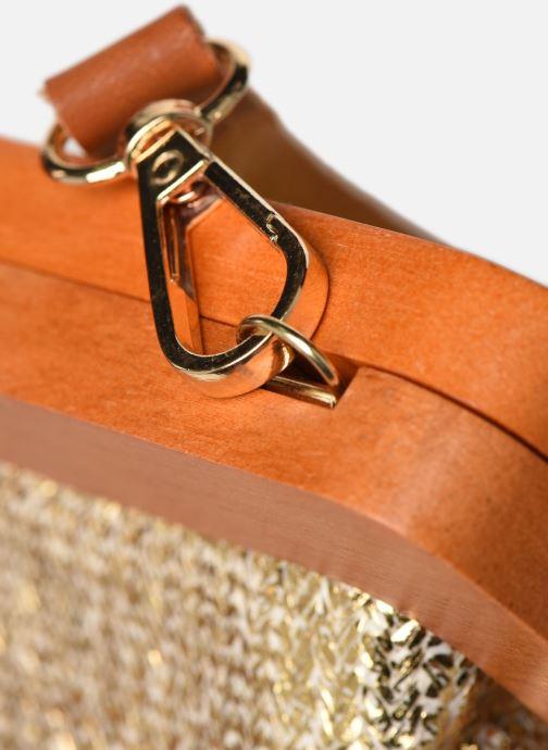 Bolsos de mano I Love Shoes LIMONA Oro y bronce vista lateral izquierda
