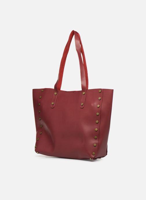 Handbags I Love Shoes LISHOP Maxi Burgundy model view