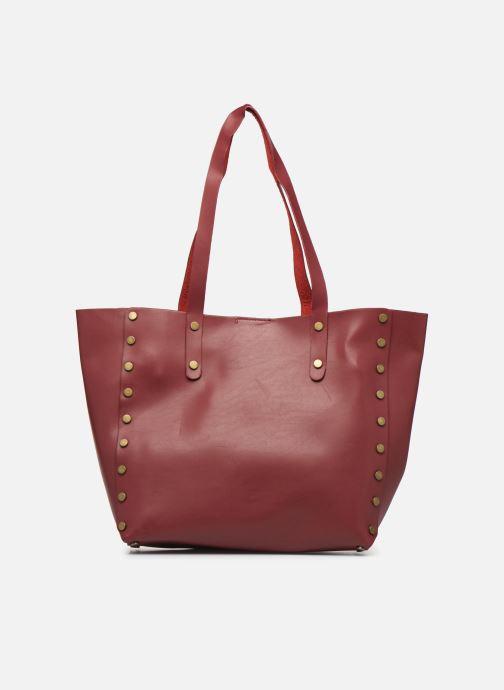 Handbags I Love Shoes LISHOP Maxi Burgundy front view