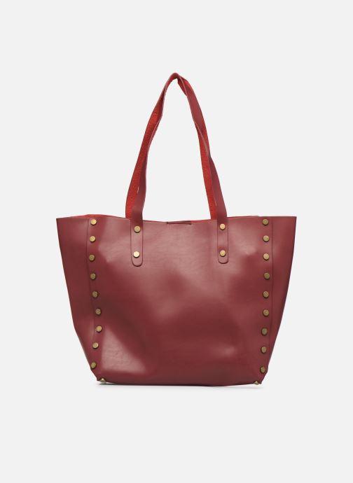 Handbags I Love Shoes LISHOP Maxi Burgundy detailed view/ Pair view