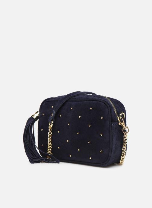 Bolsos de mano Georgia Rose Micloute Leather Azul vista del modelo