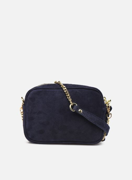Handbags Georgia Rose Micloute Leather Blue front view
