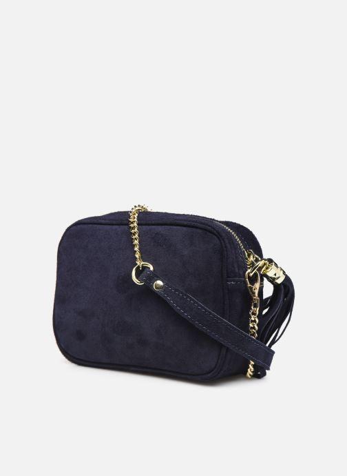 Sacs à main Georgia Rose Micloute Leather Bleu vue droite