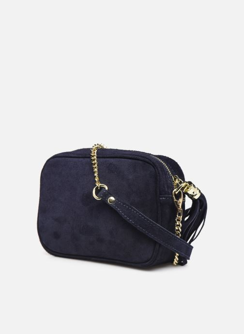 Handbags Georgia Rose Micloute Leather Blue view from the right