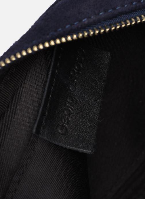 Sacs à main Georgia Rose Micloute Leather Bleu vue derrière