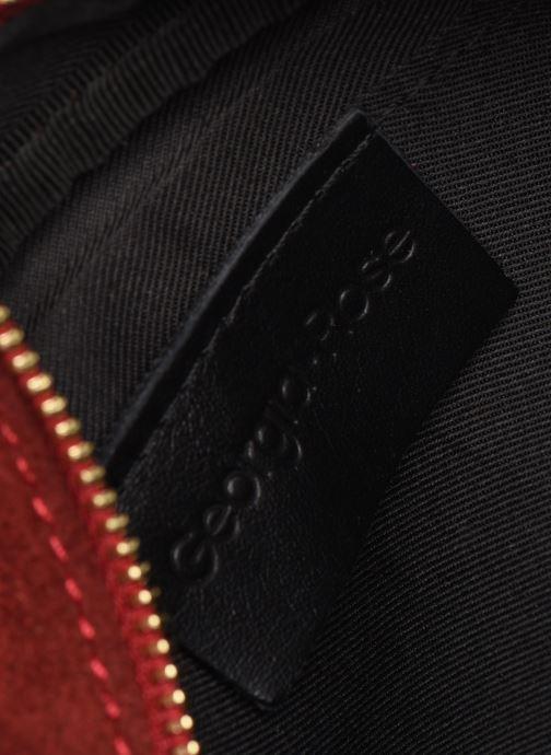 Bolsos de mano Georgia Rose Micloute Leather Rojo vistra trasera