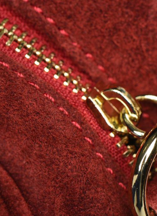 Bolsos de mano Georgia Rose Micloute Leather Rojo vista lateral izquierda