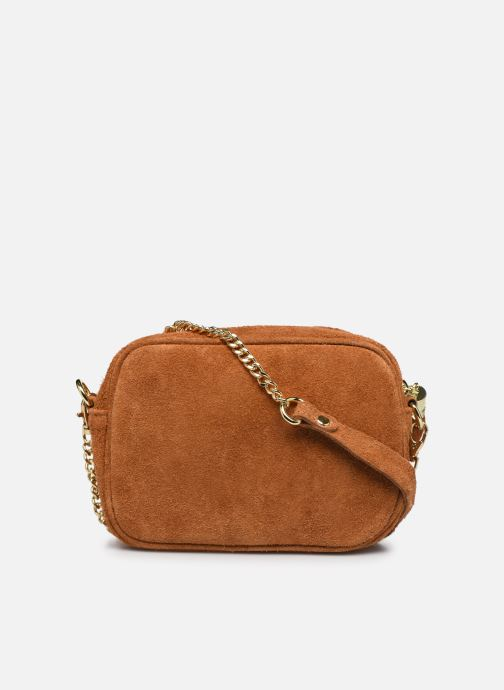 Handbags Georgia Rose Micloute Leather Brown front view