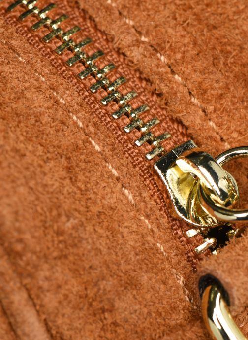 Bolsos de mano Georgia Rose Micloute Leather Marrón vista lateral izquierda