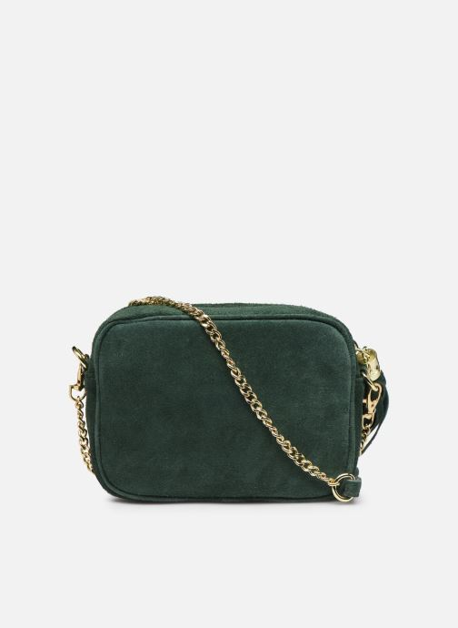 Handbags Georgia Rose Micloute Leather Green front view