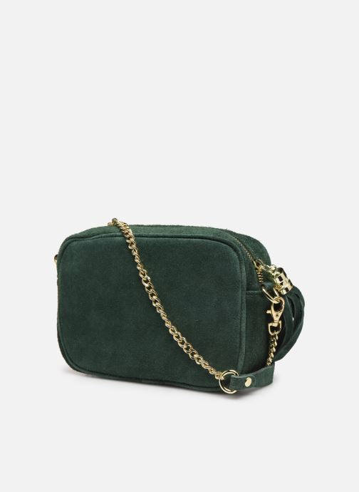 Handbags Georgia Rose Micloute Leather Green view from the right