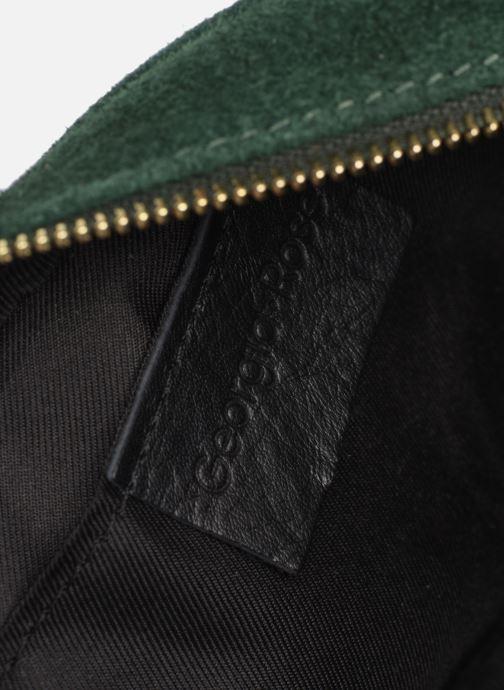 Handtassen Georgia Rose Micloute Leather Groen achterkant