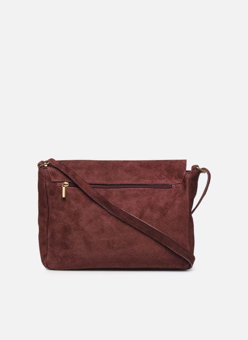 Håndtasker Georgia Rose Moulia Leather Bordeaux se forfra