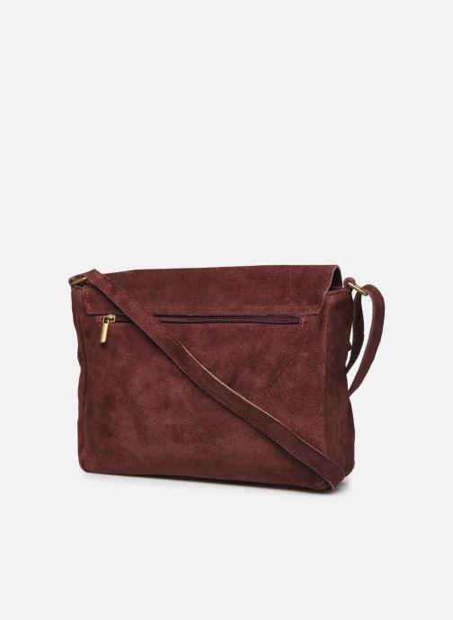 Håndtasker Georgia Rose Moulia Leather Bordeaux Se fra højre