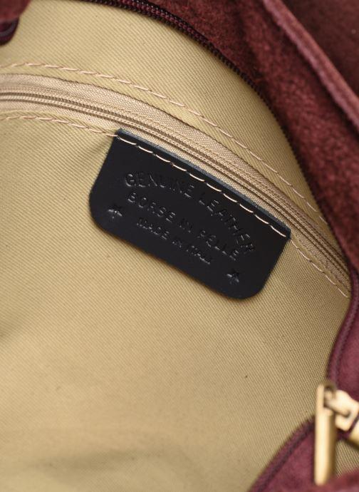 Sacs à main Georgia Rose Moulia Leather Bordeaux vue derrière
