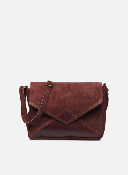 Håndtasker Georgia Rose Moulia Leather Bordeaux detaljeret billede af skoene