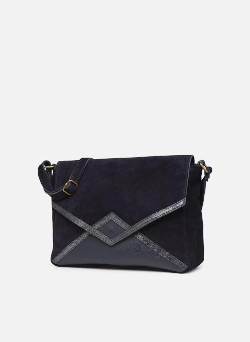 Handtassen Georgia Rose Moulia Leather Blauw model
