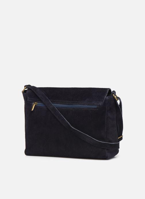 Handtassen Georgia Rose Moulia Leather Blauw rechts