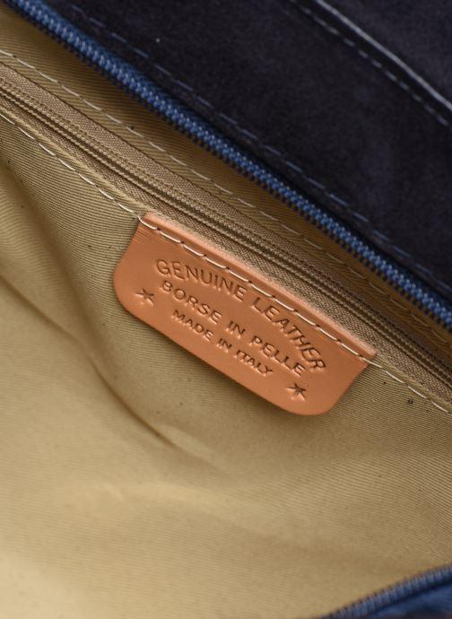 Handtassen Georgia Rose Moulia Leather Blauw achterkant