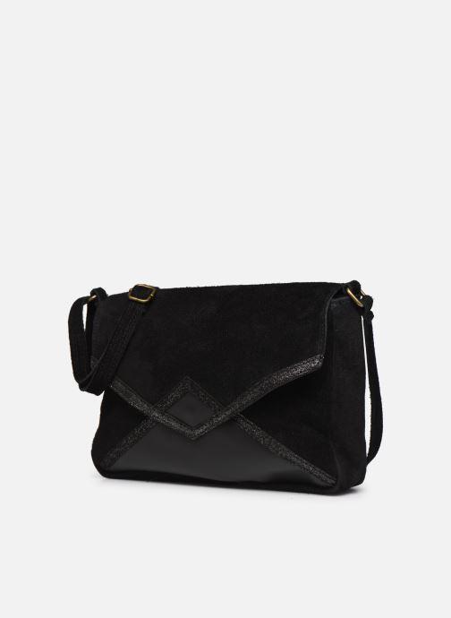 Handbags Georgia Rose Moulia Leather Black model view