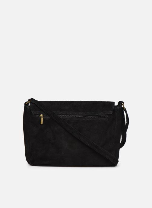 Handbags Georgia Rose Moulia Leather Black front view