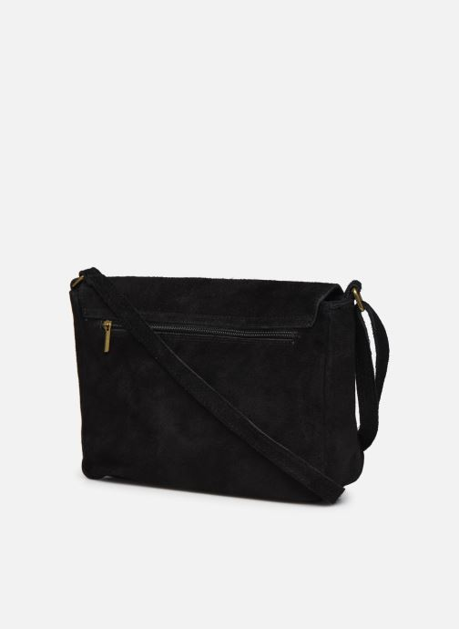 Handbags Georgia Rose Moulia Leather Black view from the right