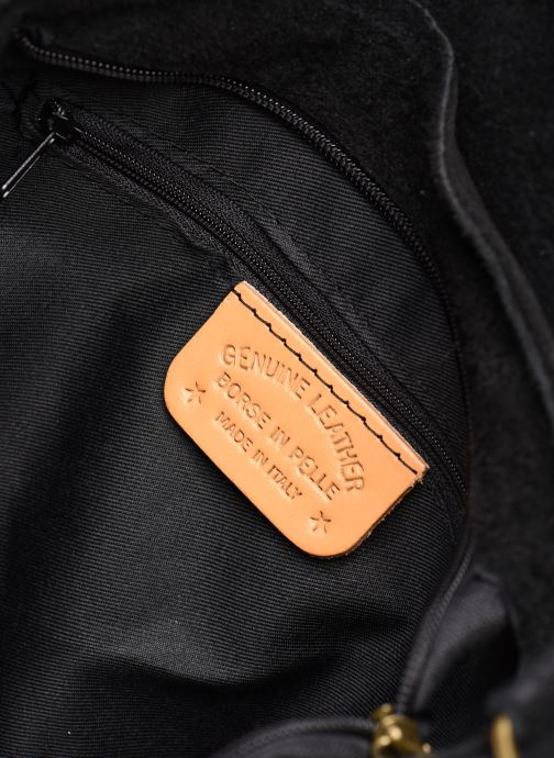 Handbags Georgia Rose Moulia Leather Black back view